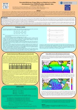 Terrestrial Reference Frame Effects on Global Sea Level Rise