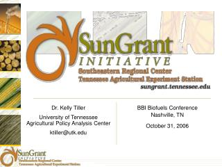 BBI Biofuels Conference Nashville, TN October 31, 2006