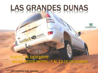 LAS GRANDES dunas
