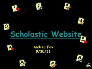 Scholastic Website