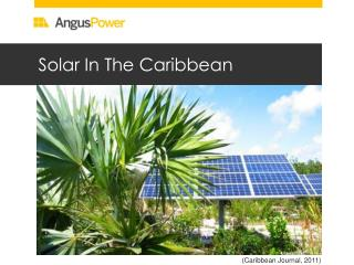 Solar In The Caribbean