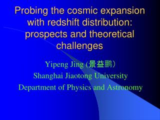 Probing the cosmic expansion with redshift distribution: prospects and theoretical challenges