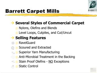 Barrett Carpet Mills
