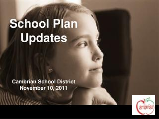 School Plan Updates