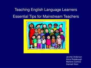Teaching English Language Learners Essential Tips for Mainstream Teachers