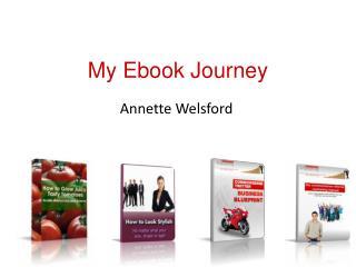 My Ebook Journey