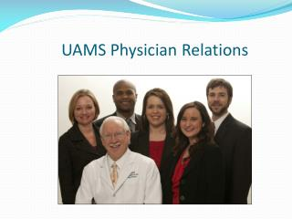 UAMS Physician Relations