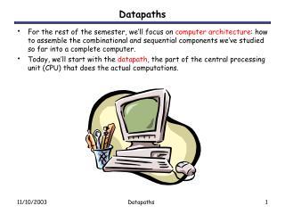 Datapaths