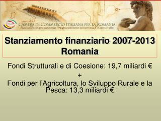 Fondi Strutturali e di Coesione: 19,7 miliardi € +