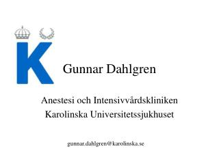 Gunnar Dahlgren