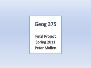 Geog 375