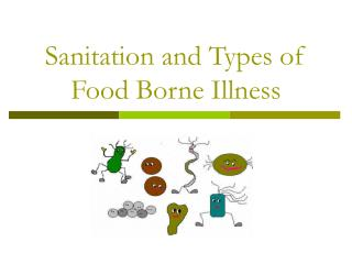 Sanitation and Types of Food Borne Illness