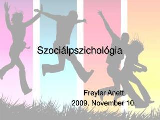 Szoci�lpszichol�gia
