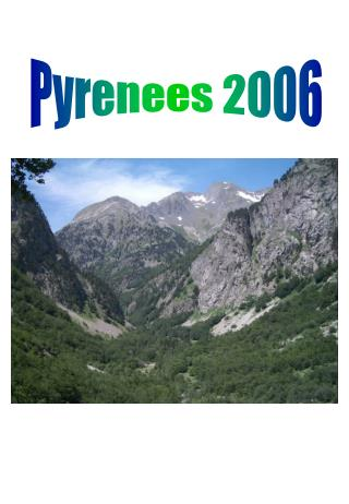 Pyrenees 2006
