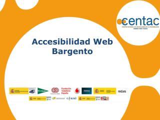 Accesibilidad Web Bargento