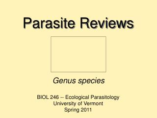 Parasite Reviews