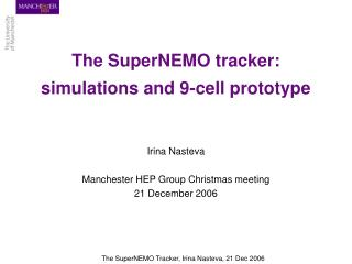 The SuperNEMO tracker: simulations and 9-cell prototype