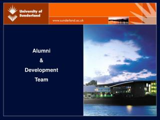 Alumni  &  Development  Team