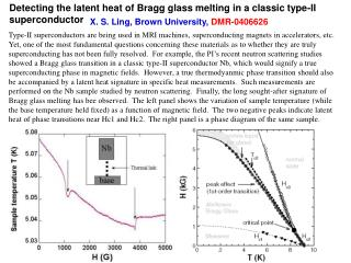 Detecting the latent heat of Bragg glass melting in a classic type-II superconductor