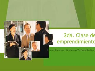 2da.  Clase  de  emprendimiento