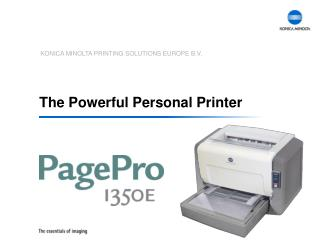 The Powerful Personal Printer