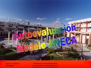 Autoevaluación Modelo ANECA