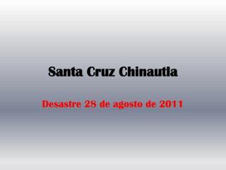 Santa Cruz Chinautla