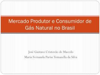 Mercado Produtor e Consumidor de Gás Natural no Brasil