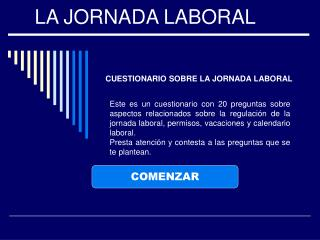 LA JORNADA LABORAL