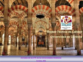Jornadas de las UTC de las Universidades Andaluzas