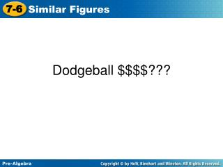 Dodgeball  $$$$???