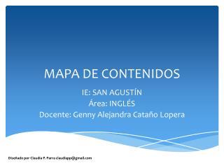 MAPA DE CONTENIDOS