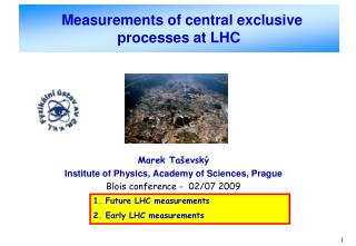 Measurements of central exclusive processes at LHC