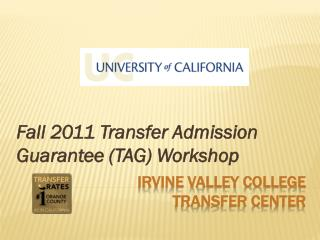 Irvine Valley College  Transfer Center
