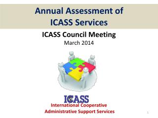 Annual Assessment of ICASS Services