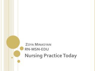 Zoya Minasyan RN-MSN-EDU
