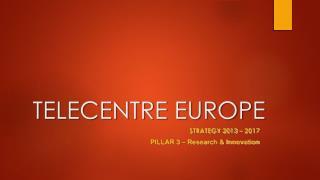 TELECENTRE EUROPE