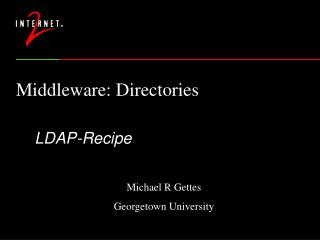 Middleware: Directories