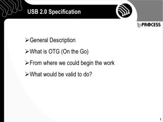 USB 2.0 Specification