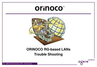 ORiNOCO RG-based LANs Trouble Shooting