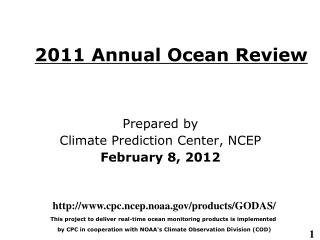 2011 Annual Ocean Review