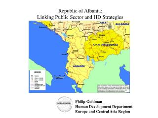 Republic of Albania:   Linking Public Sector and HD Strategies