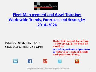 Fleet Management and Asset Tracking: Market Trends