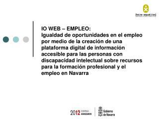 IO WEB – EMPLEO: