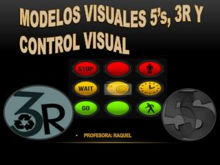 MODELOS VISUALES 5's, 3R Y CONTROL VISUAL