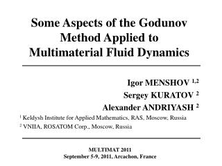 Some Aspects of the Godunov Method Applied to Multimaterial Fluid Dynamics