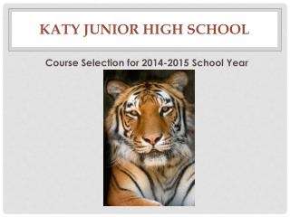 Katy Junior High School
