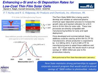 Enhancing  a -Si and  nc -Si Deposition Rates for Low-Cost Thin Film Solar Cells