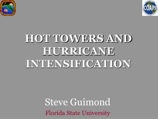 HOT TOWERS AND HURRICANE INTENSIFICATION