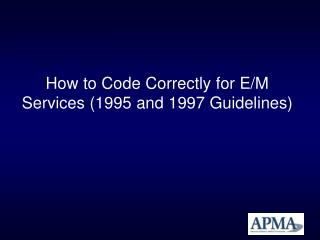 How to Code Correctly for E